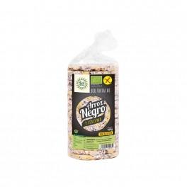 Tortitas arròs negre i cúrcuma eco 100g